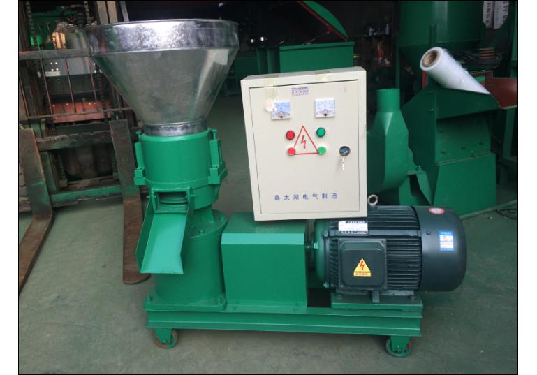 220型轴传动式颗粒机时产250公斤