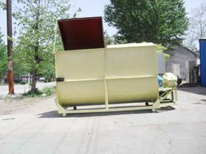 容量1吨型卧式搅拌机