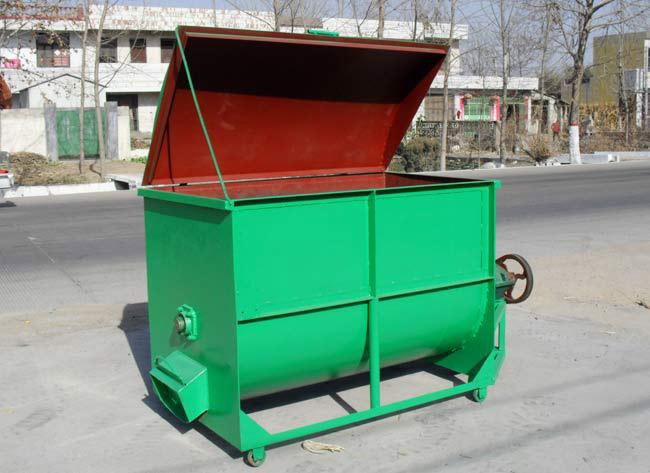 容量1000斤型卧式搅拌机
